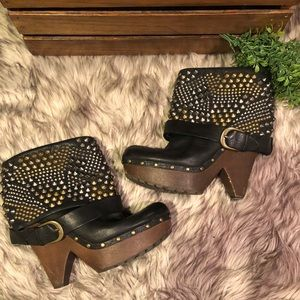 Sam Edelman Shoes - Studded rocker boots! By Sam Edelman
